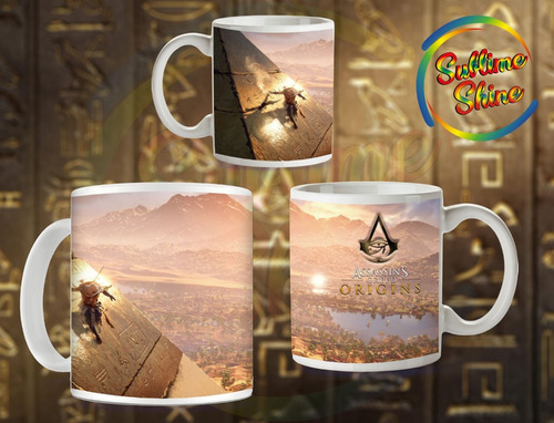 tazas importadas assassin´s creed origins  gamer