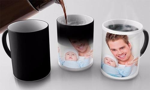 tazas mágicas con diseño personalizado full color - delivery