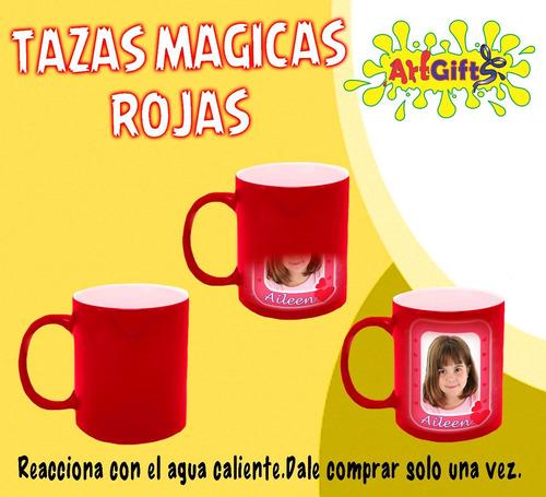 tazas mágicas personalizados