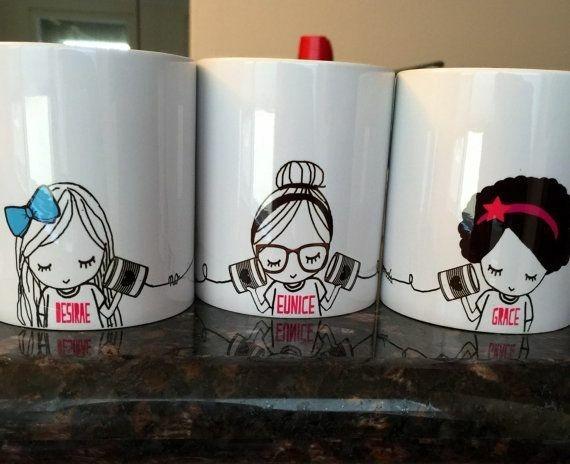 Tazas para amigas san valent n d a del amor y la amistad - Decoracion de tazas ...
