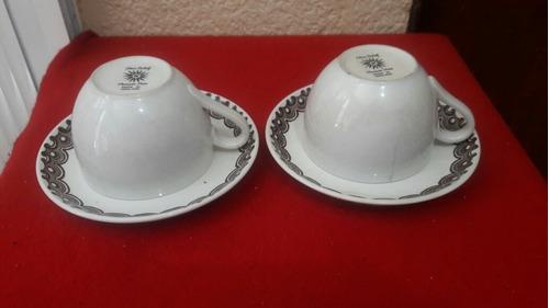 tazas para cafe inglesas de los años 50's