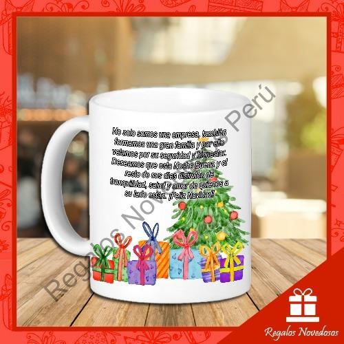 tazas personalizada navideña por menor y mayor