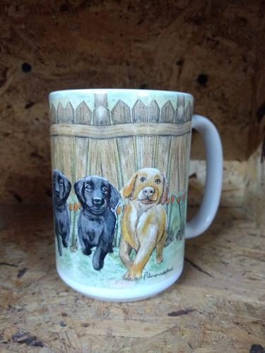 tazas personalizadas cachorro labrador  diseño exclusivo
