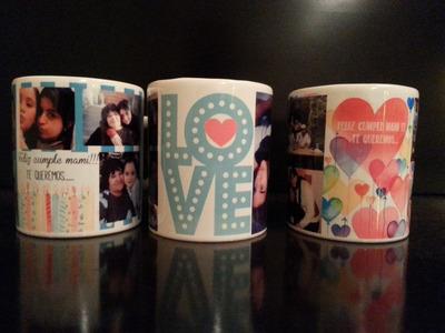 tazas personalizadas, tazas con fotos, diseño personalizado!