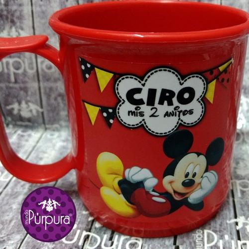 tazas plásticas personalizadas souvenir