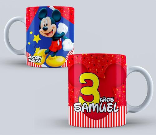 tazas plasticas personalizadas souvenirs infantil min.6und