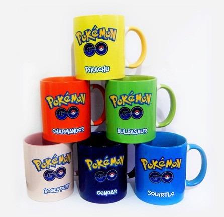 tazas pokemon go - diseños exclusivos - entrega inmediata