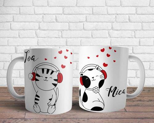 tazas san valentín personalizada