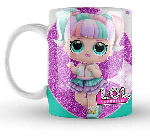 tazas souvenir muñecas lol surprise pack x13