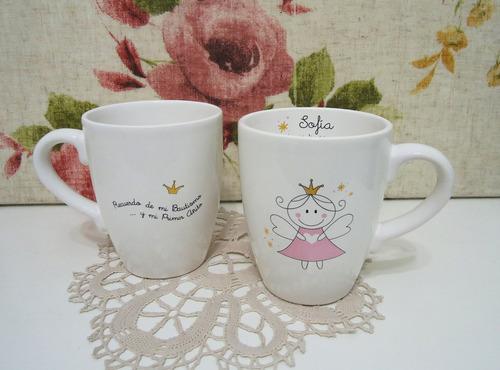 tazas souvenirs cumple infantil boda 15 años bautismo