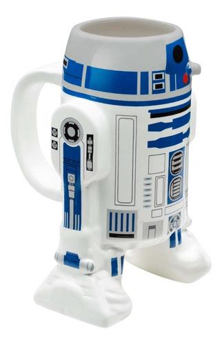 tazas star wars r2d2 taza cafe tarro ceramica pintado a mano arturito