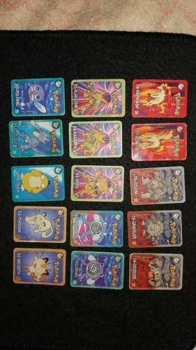 tazo figurinha cards pokemon elma chips