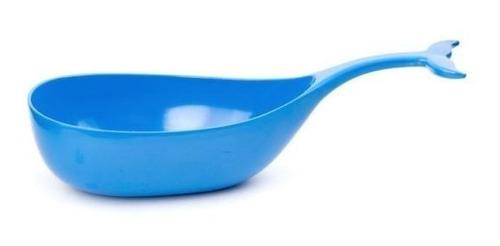 tazón ballena azul