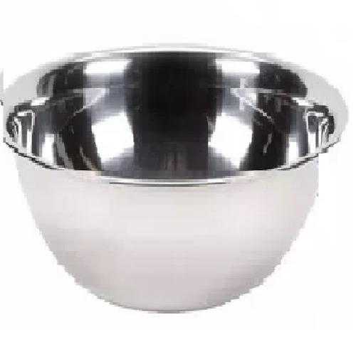 tazón, bowl de acero inoxidable de 35.5 cm  6 pzas.
