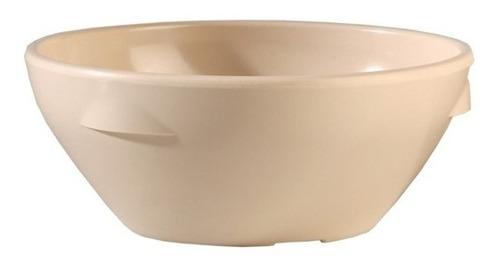 tazon cereal melamina beige 450 ml 24 piezas incluye envío