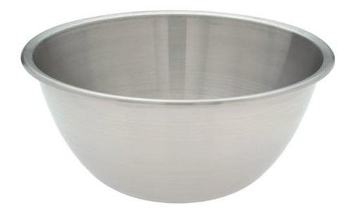 tazón de fuente amco de acero inoxidable de 4.5 cuartos