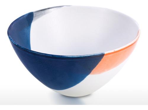 tazón de porcelana para servir sopa de fideos salsa elegante