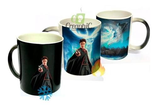 tazón mágico, harry potter, mapa merodeador, mug