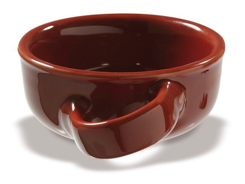 tazon para afeitar de ceramica marca omega