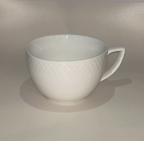 tazón para café blanco ceramica