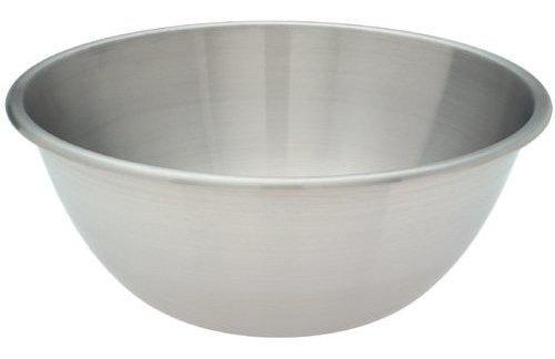 tazon para mezclar de acero inoxidable amco 874, 9 cuartos