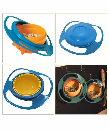 tazón plato para bebés gyro bowl anti-vuelco 62336/ fernapet