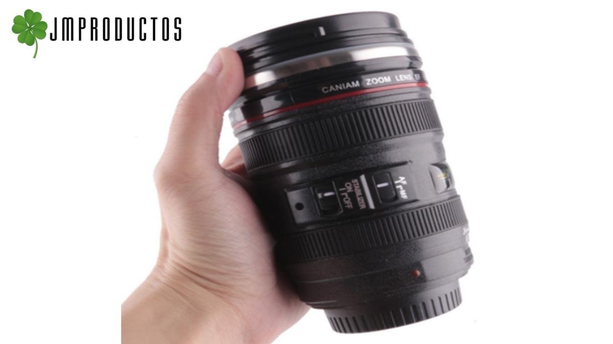 01fc42cbf8 tazon taza mug tipo lente de cámara fotográfica de aluminio. Cargando zoom.