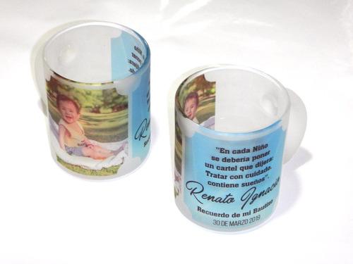 tazon vidrio empavonado personalizado foto full color