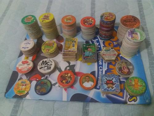 tazos coleções diversas