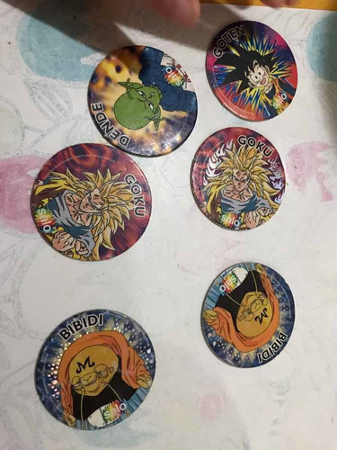 tazos dragon ball z carton