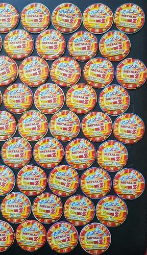 tazos dragon ball z metalix 1-60 precio por 5 unidades