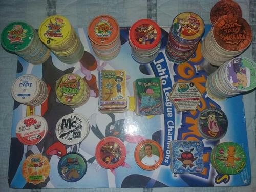 tazos elma chips e coleções diversas [[leia]]