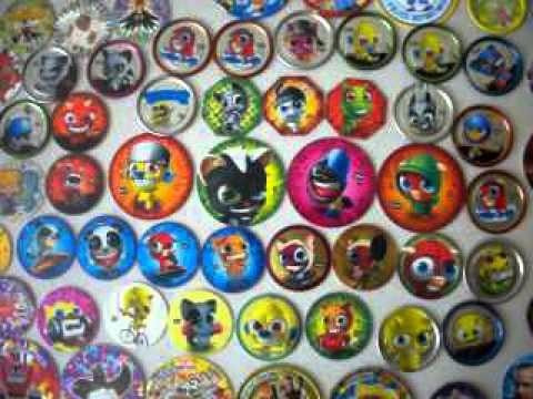 tazos funki punki (150 diferentes)