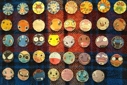 tazos pokemon 2000
