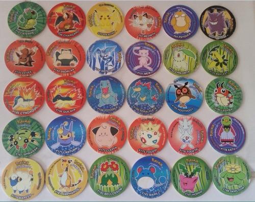 tazos pokémon 2001 3 coleccionables