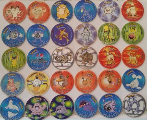 tazos pokémon coleccionables