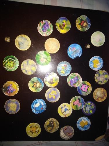 tazos pokemon de promocion 92 tazos por 350bs