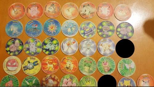 tazos pokemon en buen estado