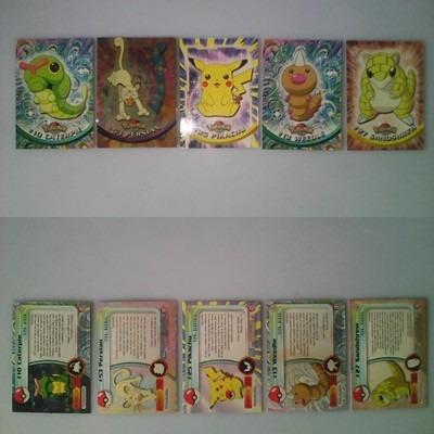 tazos pokemon frito lay y tarjetas nintendo precios diferent