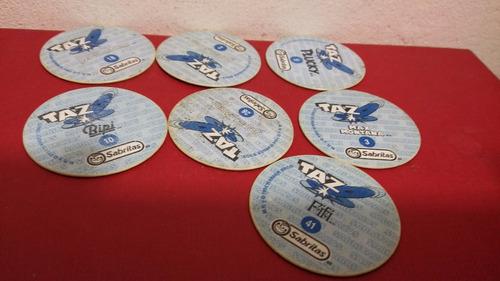 tazos sabritas azules 25 piezas