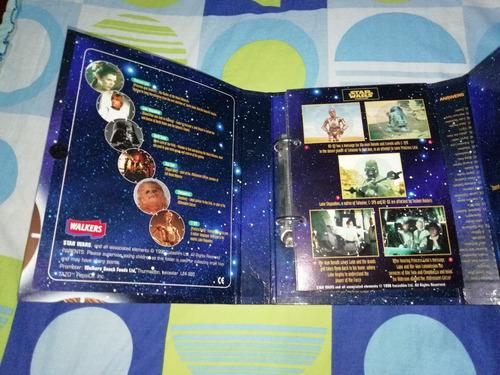 tazos taps star wars + binder coleccionador no pokemon chipy