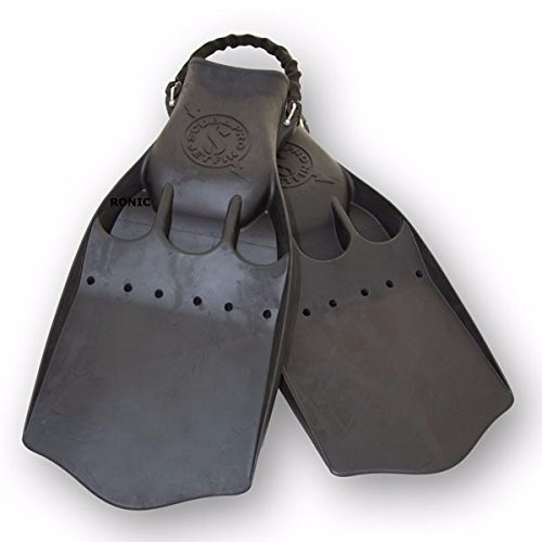 tb buceo scubapro jet fins with installed spring strap