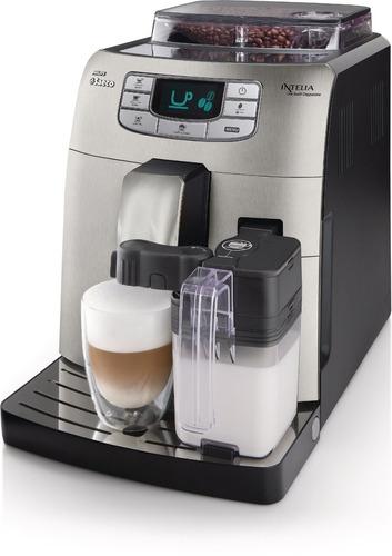 tb cafetera saeco hd8753/87 philips intellia cappuccino full