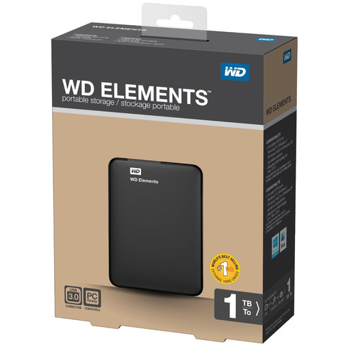 tb disco duro externo wd 1tb wd elements portable usb 3.0