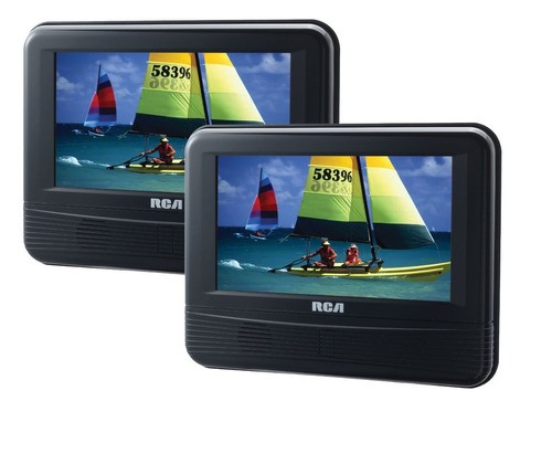tb dvd portatil rca drc69705 7-inch dual screen