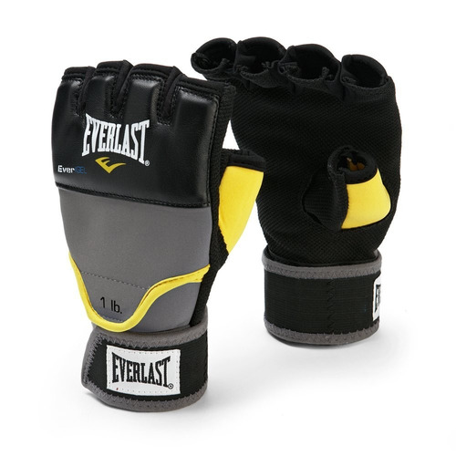 tb guantes everlast evergel weighted grey wraps