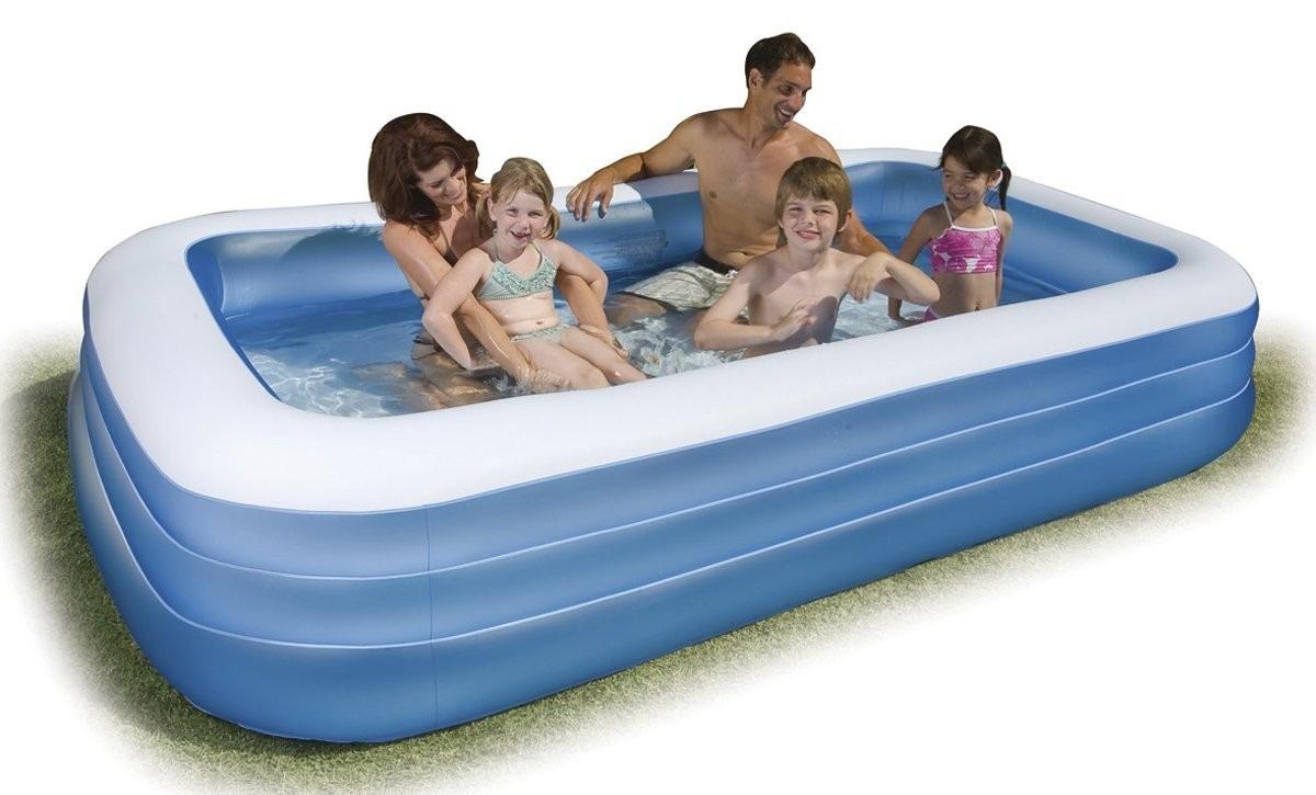 Tb intex swim center family inflatable pool 120 x 72 x 22 for Intex pool 120 hoch