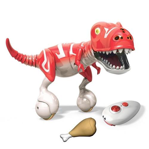 tb mascota robot spin master krimson red zoomer dino