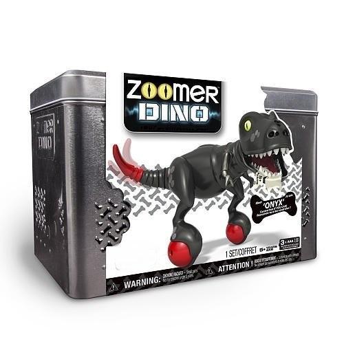 tb mascota robot zoomer dino - onyx