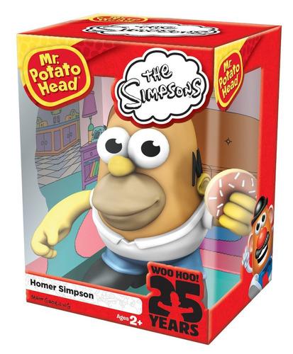 tb mr. potato head homer simpson figure